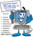 Computer Repair (Desktop-Laptop) (Home Service-Office-Maintenance)