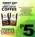 North Luzon Coffee Vendo Machine powders and cups