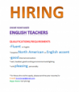 Online Home-Based English Teachers