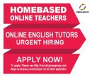 We are currently in need of Homebased Online English teachers.
