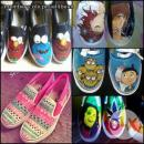 Customized Shoes (Hand Painted)- FREE SHIPPING