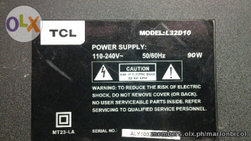Power Supply Board For Tcl L32D10  lcd