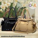 Korean Bowtie PU Women Tote Handbag Shoulder Bag