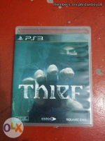 Ps3 Thief Scratchless Unused Codes Blue Ray