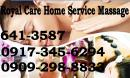home service massage pasig